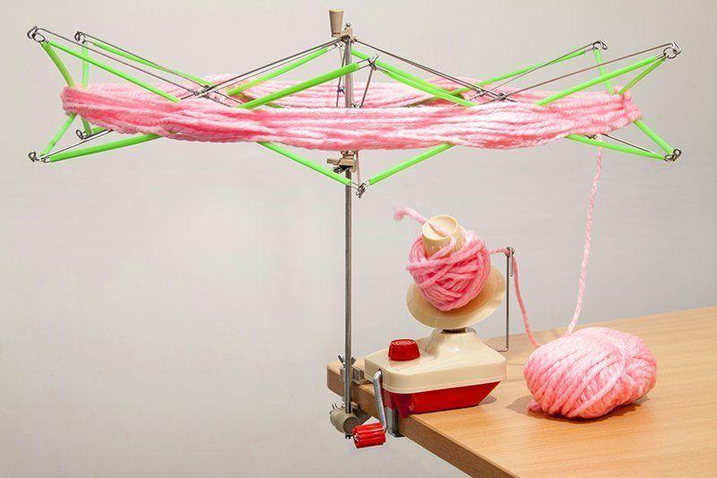 Как размотать нитки для вязания
