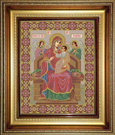 Всецарица вышивка крестом