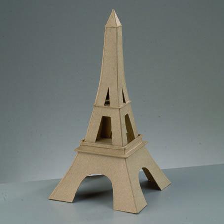 Как сделать эйфелеву башню из картона 66